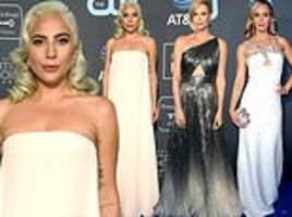 critics' choice 2019: best dressed stars arrive on the red carpet