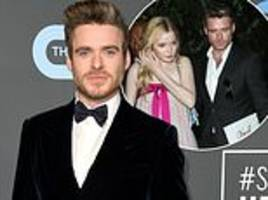 critics' choice awards: richard madden arrives solo on the red carpet after split from ellie bamber