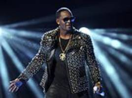 r kelly's record label puts his music career on hold over sex abuse allegations