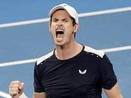 andy murray loses first round match at australian open