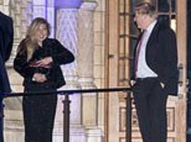 boris johnson and carrie symonds prepare to go public, as we reveal they share passion for ambition
