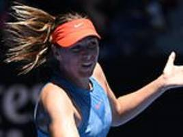 british hopeful harriet dart thrashed by maria sharapova