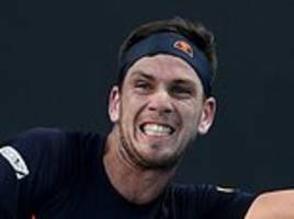 cameron norrie tumbles out of australian open with first-round defeat by taylor fritz