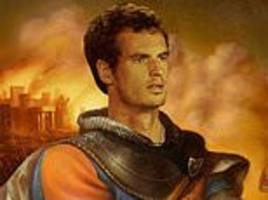 Judy Murray quotes Henry V as she posts mock-up image of son Andy after Australian Open defeat