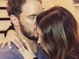 Chris Pratt proposes to Katherine Schwarzenegger with HUGE ring after just seven months of dating