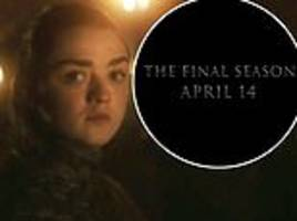 game of thrones season eight: teaser trailer finally reveals show's release date