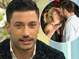 strictly's giovanni pernice gets shy as he finally confirms romance with ashley roberts