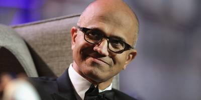 ceo satya nadella didn't think it was worth celebrating when microsoft became the world's most valuable company: 'that's just not stable' (msft)