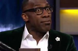 shannon sharpe brought the hennessy and some farewell luggage for skip bayless' cowboys