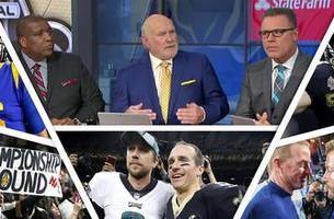 The FOX NFL crew previews the NFC Championship game between the Rams and Saints