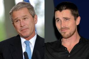 before christian bale played dick cheney in 'vice,' he almost played george w. bush in 'w'