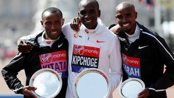 london marathon 2019: world record holder eliud kipchoge to defend title