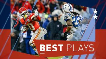 nfl: tyreek hill & todd gurley star in the best plays from the divisional play-offs