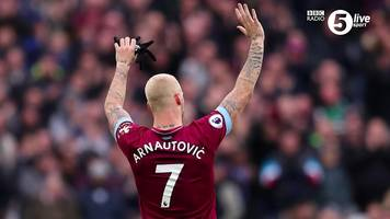 marko arnautovic: ian wright says west ham should let striker leave