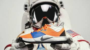 nike announces paul george 3 'nasa' sneaker and clothing line