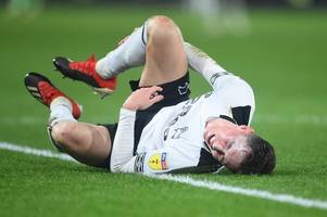 Harry Wilson injury update ahead of Derby County's FA Cup replay at Sothampton