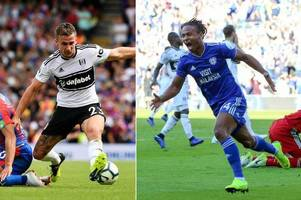 mixed fortunes for bristol city old boys as fulham cave in but peterborough united win