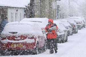 usa winter storm expected to hit uk by the end of the week