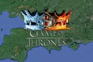 game of thrones - the long night: there's a strong somerset link in new series