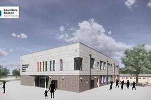 'colourful' new designs for village primary school revealed