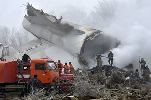 Cargo plane crashes in Iran; one survivor from 16 on board