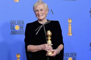Glenn Close named best actress at Golden Globes for role in film shot in Dumfries and Galloway