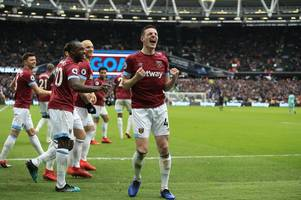 from fresh faced youngster to west ham's future captain - declan rice has the world at his feet
