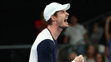 bautista agut ousts andy murray in first round of australian open