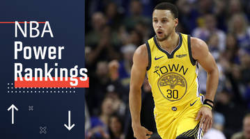 nba power rankings: stephen curry and the warriors are scorching hot