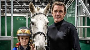 tony mccoy's daughter (11) aims for the olympics