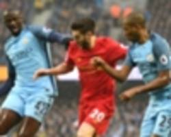toure explains what pep wants from the 'fernandinho role' as city continue to search for able replacement