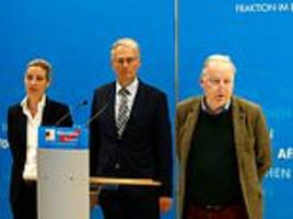 Germany's spy agency to investigate anti-immigrant AfD party over 'right-wing extremist motives'