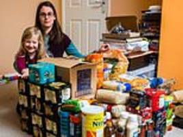 The DOOMSDAY Brexit Preppers! Meet the British families stocking cupboards with food