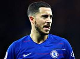 chelsea 'to demand £100m from real madrid' if eden hazard wants to leave next summer
