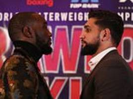'eddie is p***** off that i'm not fighting brook': khan reveals promoter's fury over snub