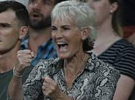 judy murray believes son andy would make a brilliant coach