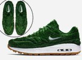 nike reveal new £110 golf 'grass' shoes... but will rory mcilroy be wearing them any time soon?