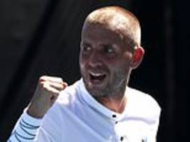 order of play: dan evans and katie boulter in action at australian open on wednesday