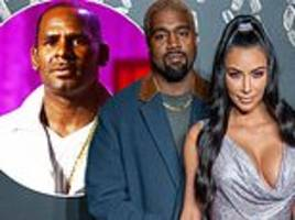 Kim Kardashian goes into damage control again  after Kanye West appears to defend R Kelly