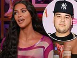 Kim Kardashian says fans can expect the return of elusive brother Rob during next season of KUWTK