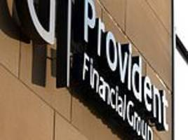provident financial's profit gloom hits shares
