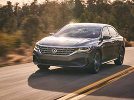 volkswagen has a new passat that's set to challenge the honda accord and toyota camry