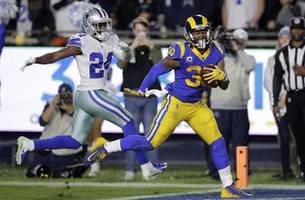 gurley, anderson form dynamic rushing tandem for rams