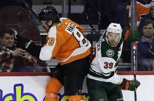 Flyers top Wild 7-4 for 2nd victory in last 11 games