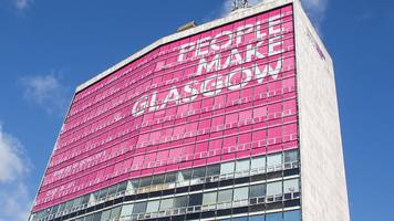 landmark 'people make glasgow' tower sold for redevelopment