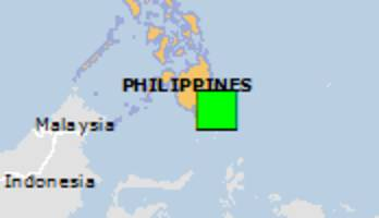Green earthquake alert (Magnitude 5.7M, Depth:69.57km) in Philippines 15/01/2019 20:03 UTC, About 1000 people within 100km.