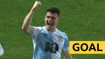 fa cup: darragh lenihan levels for blackburn with 'thumping' header against newcastle united