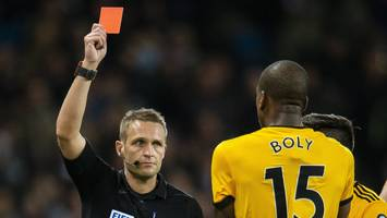 willy boly: french defender apologises to bernardo silva for red-card tackle