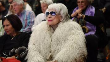 actress carol channing has died at age 97