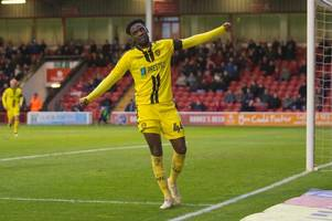 devante cole recalled by wigan athletic from burton albion loan spell